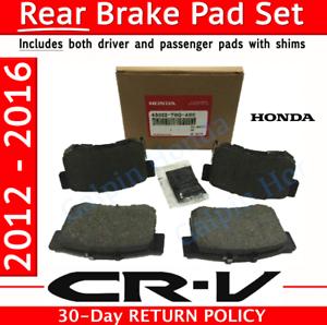 2011-2015 honda CR-V Genuine Honda Rear Brake Pad Set factory OEM