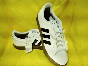 new men's adidas daily 20 casual/urban white/black/gums