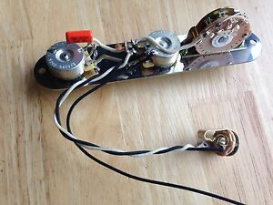 telecaster wiring harness fender cts pots oak switch orange drop rh ebay com emerson telecaster wiring harness telecaster wiring harness 4 way phase