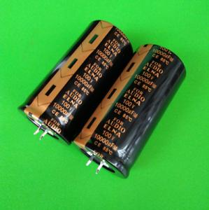 2pcs ELNA POUR AUDIO condensateur électrolytique 35x70mm 100 V 10000UF ce 85 ℃
