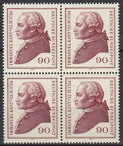 806-postfrisch-4-er-Block-BRD-Bund-Deutschland-Briefmarke-Jahrgang-1974