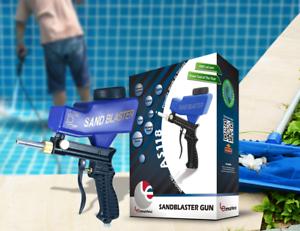 LEMATEC Sandblasting Gun For remove Rust Paint dirt to Swimming Pool Sandblaster