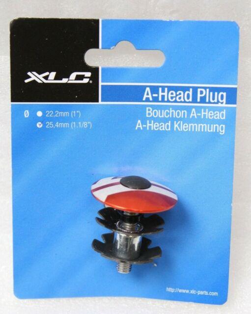 "Fahrrad A-HEAD PLUG VP ALUMINIUM 1 1//8/"" Steuersatz Kralle ROT"