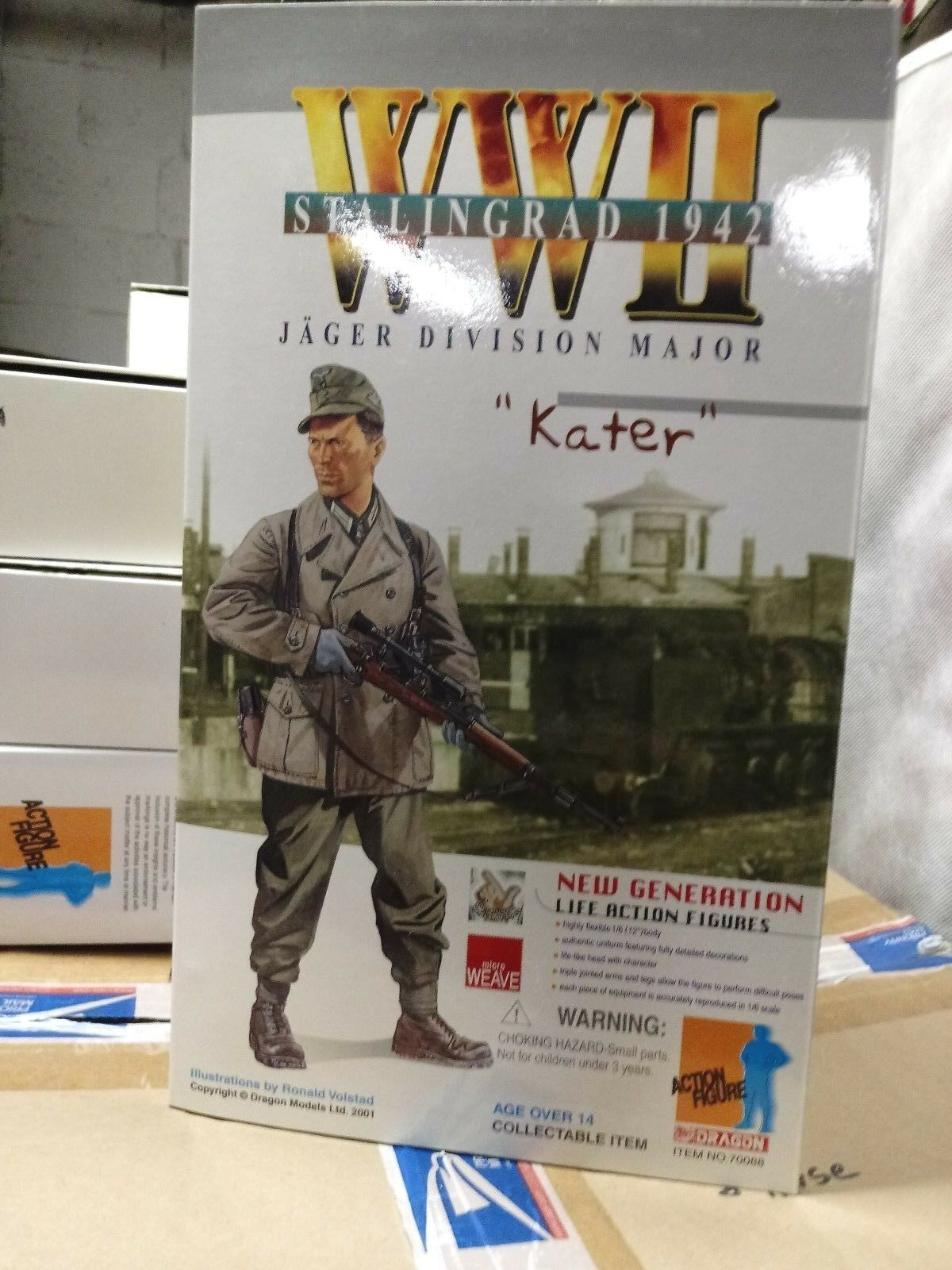WW2  Army Jager Major Kater Sniper at Stalingrad 1942 1/6 Ed Harris