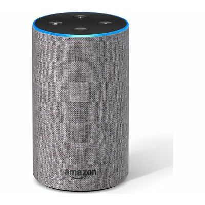 AMAZON Echo - Heather Grey Fabric - Currys