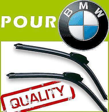 F20 F21 55//45cm B 2 x BALAIS D/'ESSUIE GLACE AERO POUR BMW 1 Serie 2011