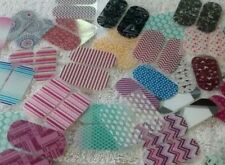 Jamberry Nail Pedicure 10 Packs /20 Wraps Pieces Assorted Mixed Lot New For Toes