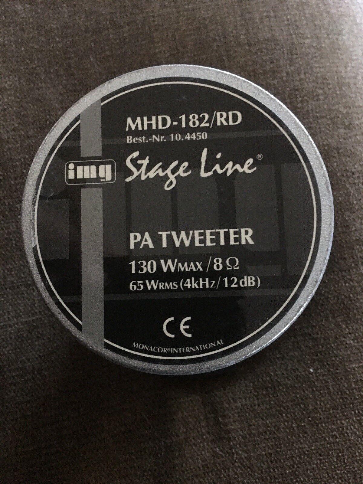 IMG Stage Line MHD-230//RD PA-Hornhochtöner 40 W 8 Ω