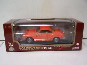 1:18 1966 VW VOLKSWAGEN GHIA ORANGE