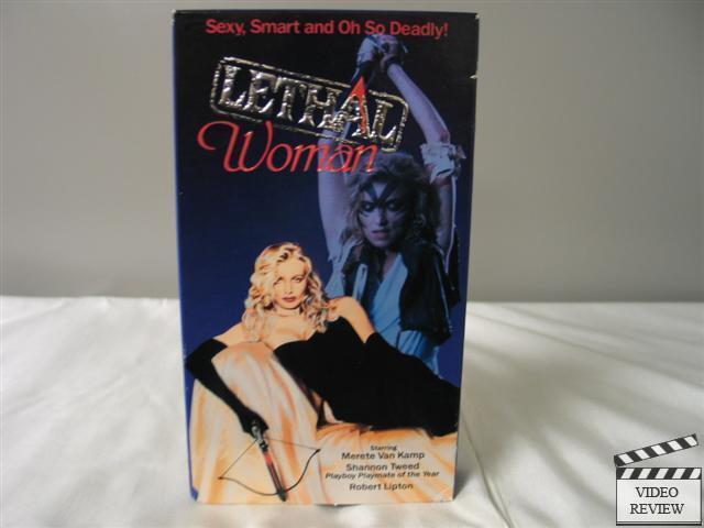 Lethal Woman VHS Merete Van Kamp, Shannon Tweed
