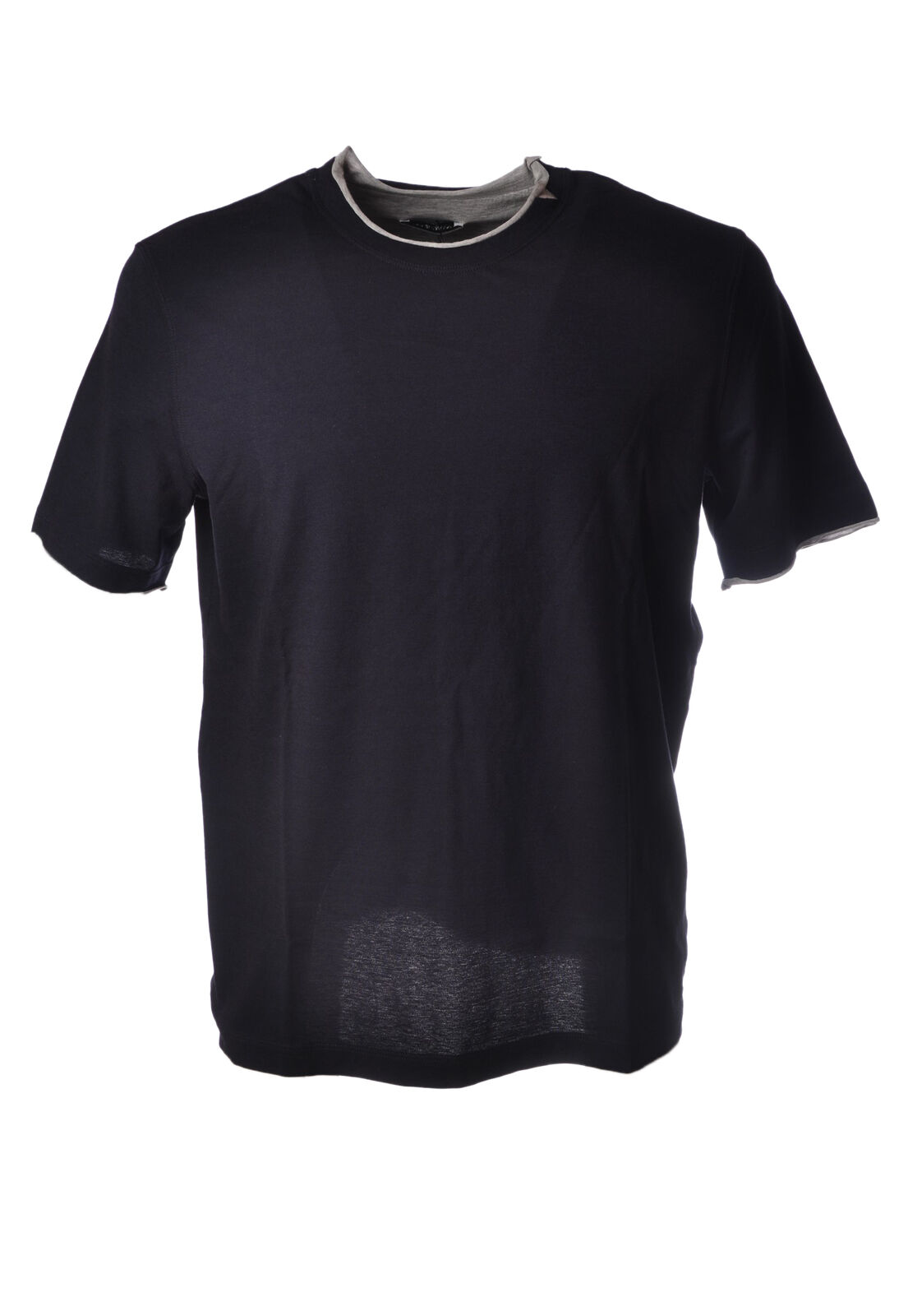 Paolo Pecora - Topwear-T-shirts - Man - Blau - 5038426E183635