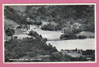 Vintage postcard, Loch Achray and Trossachs Hotel, Stirlingshire, Scotland.