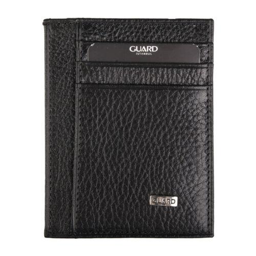 Genuine Leather Men/'s Small Wallet Id Credit Card Holder Slim Pocket Case