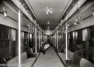 new york city photo 1908 interior of nyc subway car passenger reading newspaper ebay. Black Bedroom Furniture Sets. Home Design Ideas