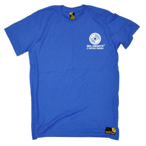 soluzioni proteiche Seno T-shirt di formazione bodybuilding Compleanno SESSO Pesi /&