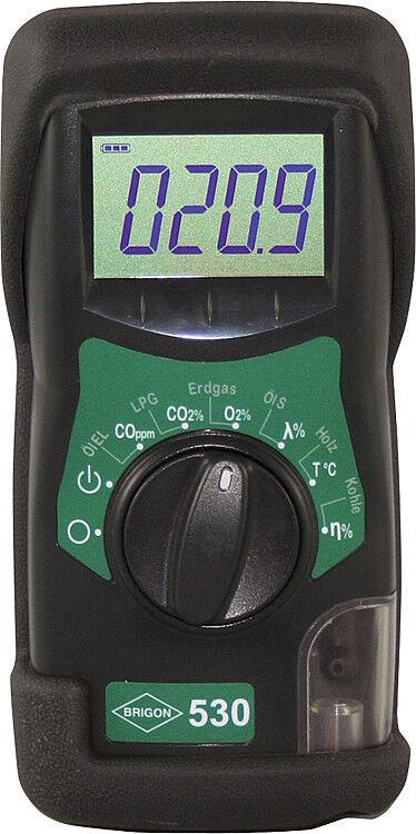 Brigon 530 elektronischer CO2 Indikator Abgasmessgerät Abgasmessung Heizung