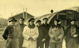 France-Dieppe-Rehabilitation-Work-Workers-Group-Old-Photo-1947