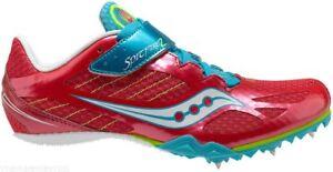 SAUCONY Shay XC 3 Donna Militare Scarpe sportive CAMPIONE UK 8 US 10 EU 42 Ref