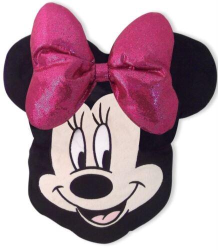 Disney Minnie Mouse Tête En Forme Oreiller Coussin Rempli