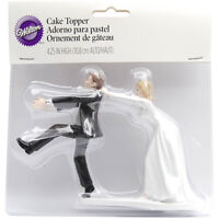 Wilton Cake Topper Oh No You Don't Humorous Funny Wedding Decorations 4 Height