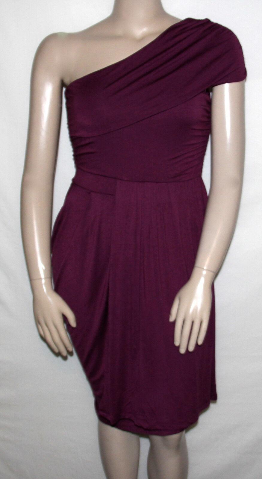46622f9c5d NEW Bar III Size LARGE Overlap Dress SHIRAZ Jersey One-Shoulder naewuz2372- Dresses