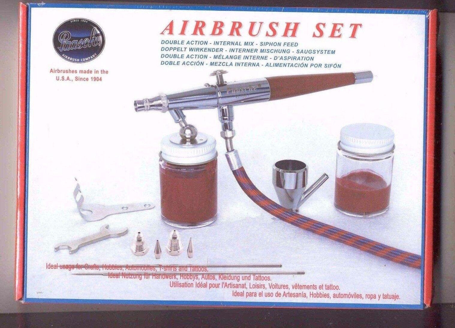 Paasche H Airbrush Set - Einzelne Action Vl Set  00052    Viele Stile
