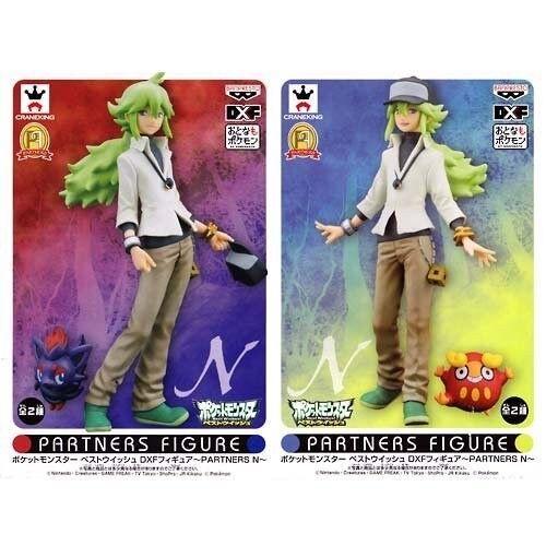 Banpresto Pokemon Best Wishes Wishes Wishes DXF Figure PARTNERS N Natural Harmonia Set of 2 df5ada