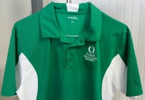 Florida-Gulf-Coast-University-FGCU-Eagles-Green-White-Golf-Polo-Shirt-Men-039-s-L