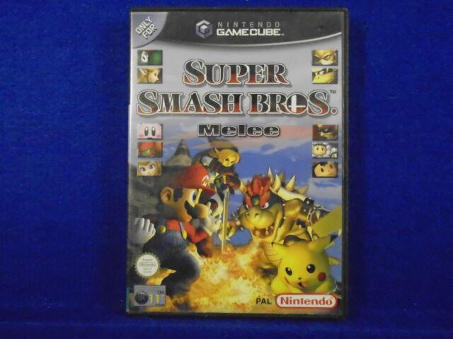 *gamecube SUPER SMASH Bros Melee (NI) Nintendo PAL UK ENGLISH Version wii