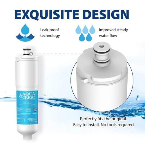 Refrigerator Water Filter Whirlpool Fridge Bosch Indesit 3M//Cuno Water Filter