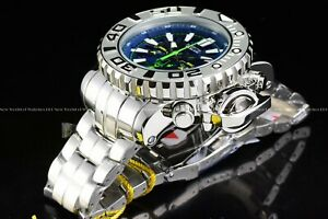 Invicta-70mm-Full-Sea-Hunter-High-Polished-Silver-Ice-Berg-Swiss-Blue-Dial-Watch