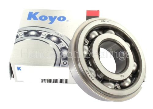 6306NRC3 Bearing With Snapring /& Groove Premium Brand Koyo 30x72x19mm