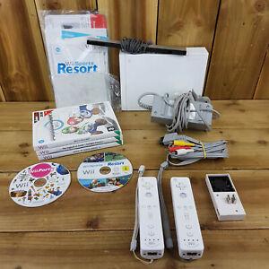 Consola Nintendo Wii Paquete 6 Juegos 2 Motion Plus controladores Ventilador Mario Zelda Re