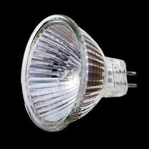 10-x-Halogenlampe-MR16-12V-50W-Kaltlichtspiegellampe-Halogen