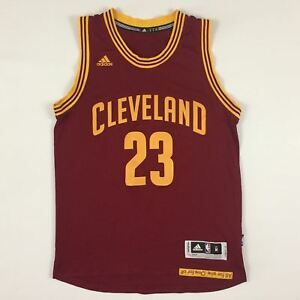 55fed1e3b03 Image is loading Cleveland-Cavaliers-LeBron-James-23-Navy-RED-Swingman-