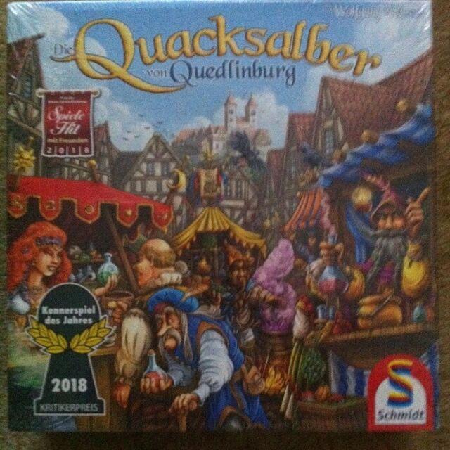 Quacksalber Brettspiel