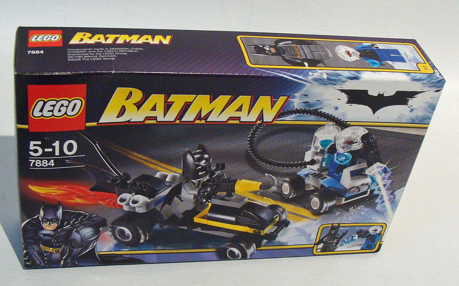 Lego® Batman 7884 - Die Flucht von Mr. Freeze 76 Teile 5-10 Jahren - Neu