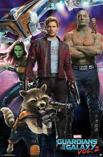 GUARDIANS OF THE GALAXY 2 - CHARACTERS MOVIE POSTER - 22x34 - 15097