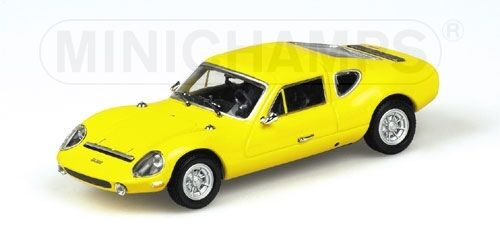 Melkus Rs 100 1972 Gelb 1 43 Model MINICHAMPS  | Merkwürdige Form