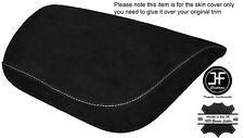 WHITE STITCHING SUEDE ARMREST COVER FITS CORVETTE C7 2014-2017