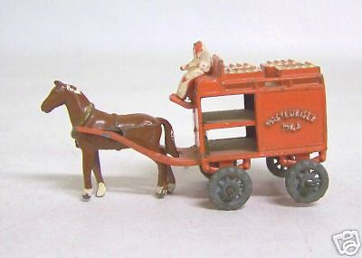 Matchbox Lesney No.7-1RW, Horse-Drawn Milk Float