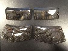 Indicator lens smoked grey (set of 4) for Vespa PX & LML Star by Bosatta