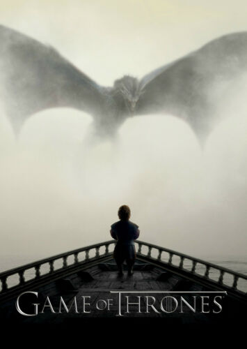 Game Of Thrones Dragon TV Framed CANVAS ART PRINT A0 A1 A2 A3 A4 Sizes