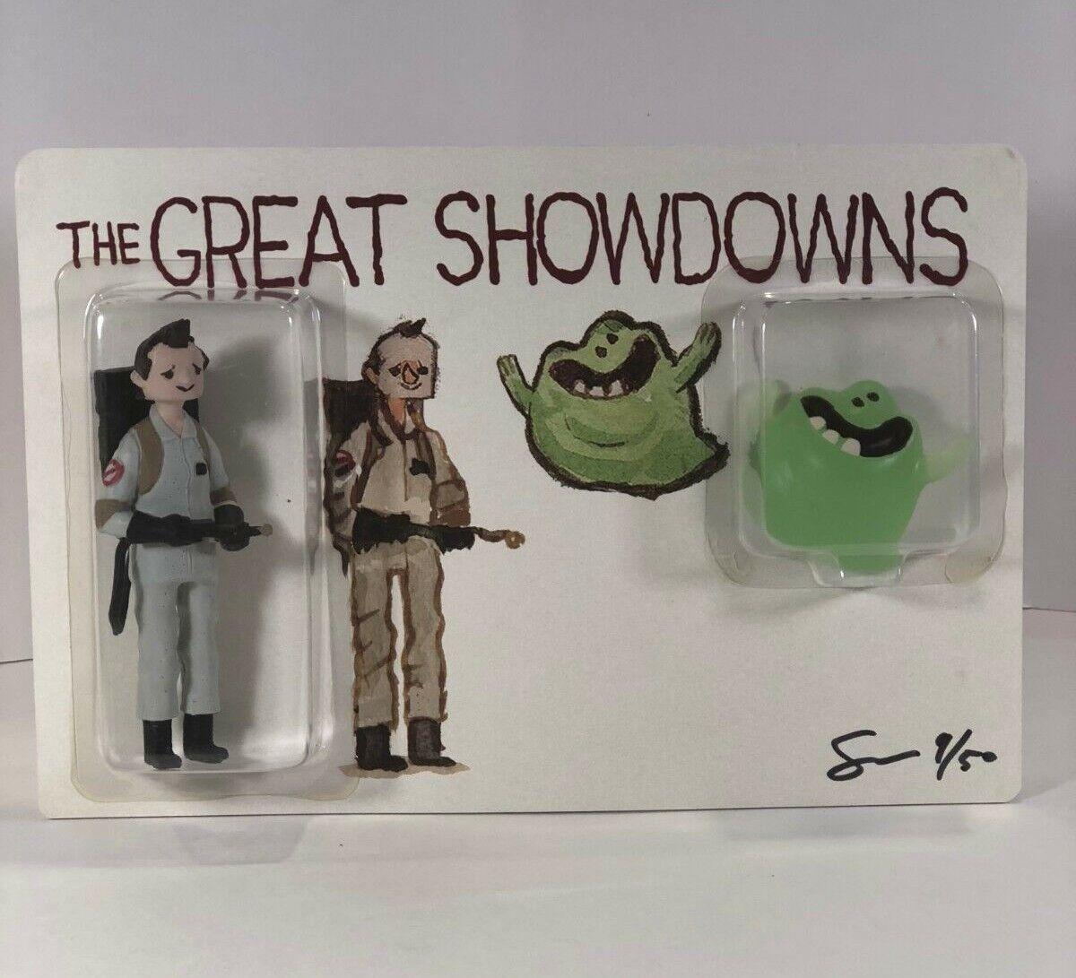 DKE Toys Great Showdowns by Scott C 2017  SDCC Exclusive Figure Ghostbusters RARE  marques de créateurs bon marché