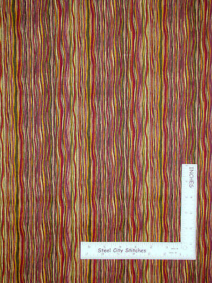 SPRING COLORED STRIPES-COTTON---BY THE YARD