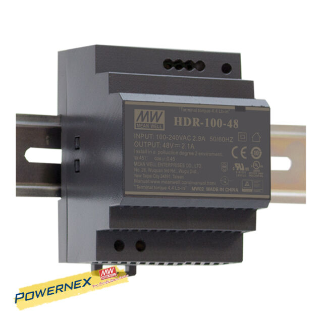 MEAN WELL Din-Rail power supply 15W MeanWell Panel Mount HDR-15-12