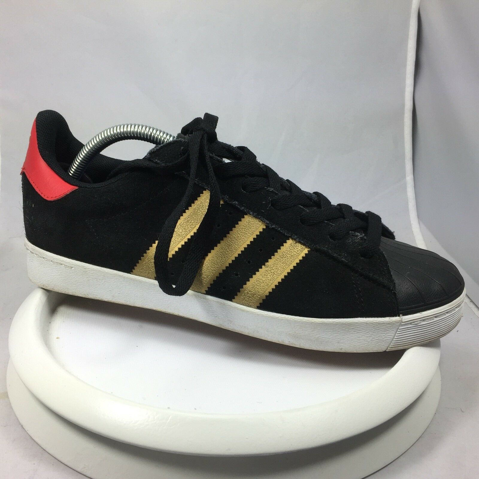 Mens Adidas Originals Adi-Ease Black Canvas Classified Sneakers Price reduction best-selling model of the brand