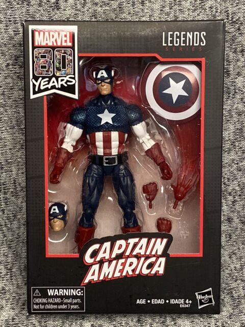 Marvel Legends Series 80th Anniversary Captain America Walmart Exclusive In Hand