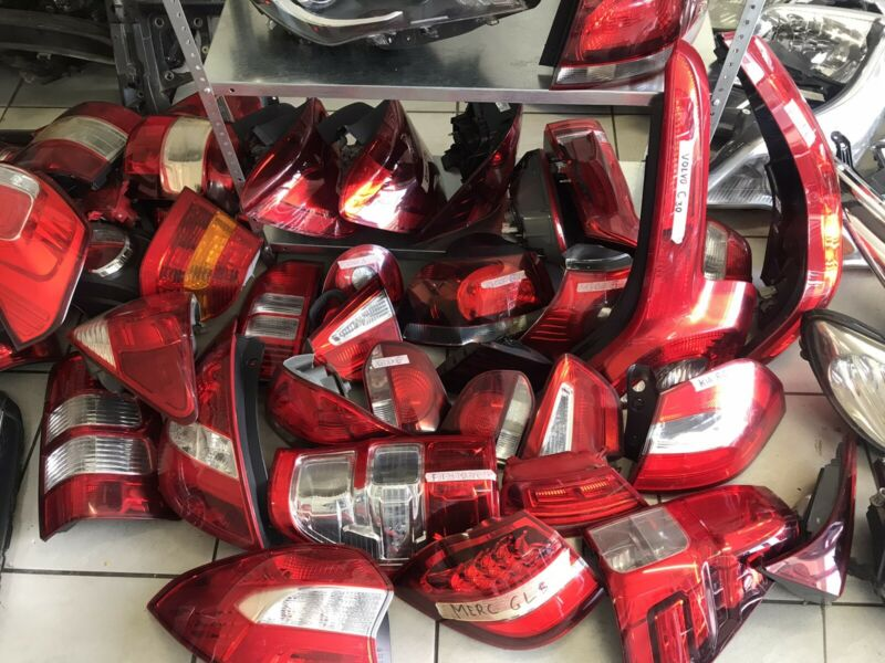 For sale all types and kinds of tail lights , Merc , Audi , Bmw