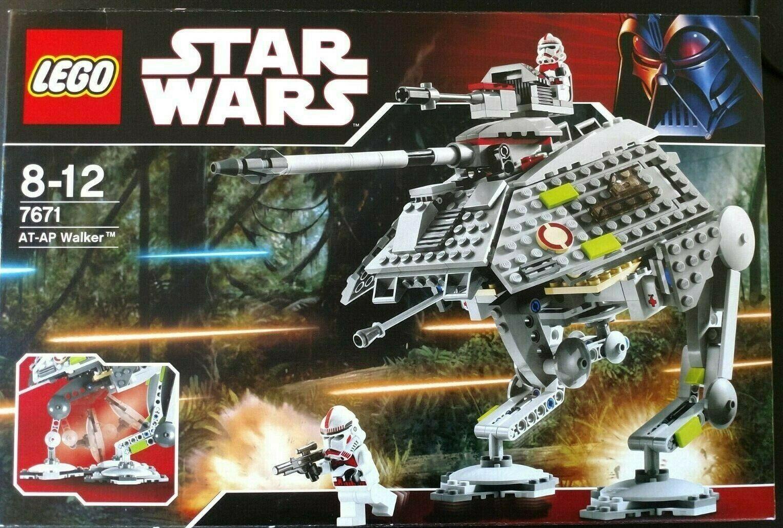 LEGO estrella guerras 7671 AT-AP Walker Nuovo  sigillato in pensione Set ottime condizioni  a buon mercato